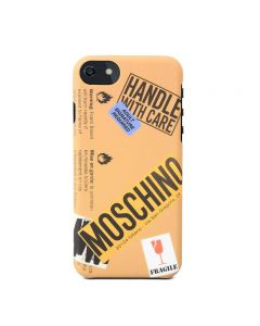 Moschino Cardboard Couture iPhone Case Brown