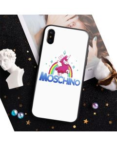 Moschino x The Sims Uni-Lama iPhone Case White