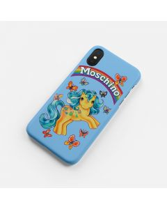 Moschino My Little Pony iPhone Case Sky Blue