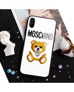 Moschino x The Sims Teddy Bear iPhone Case White