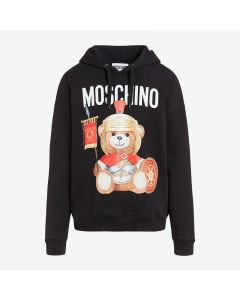 Moschino Roman Teddy Bear Women Long Sleeves Sweatshirt Black