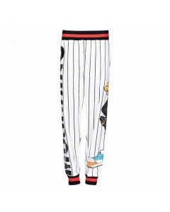 Moschino Looney Tunes Daffy Duck Women Causal Pant White