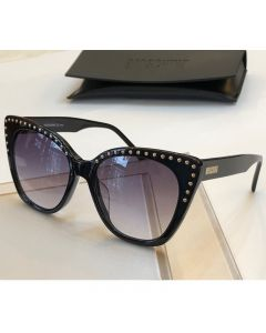 Moschino Micro Studs Women Sunglasses Black