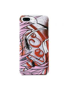 Moschino Crying Eyes iPhone Case Red